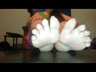 Sniff my feet