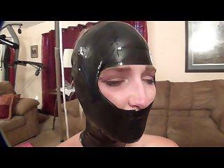 Black tape bondage