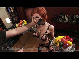 Nympho milf slave training