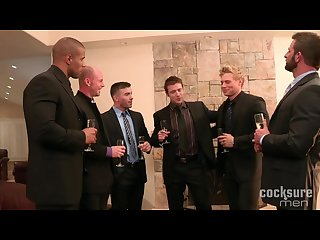 The Engagement Part 1 - Six-Way Fucks with Suits