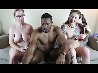 Reverse gangbang tinder young pawgs run train on bbc w 1000 fans part 6