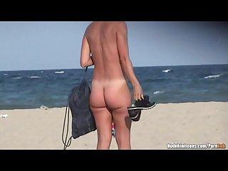 Big tits nude milfs voyeur beach hd spycam