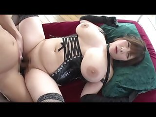 Black gloves with big boobs