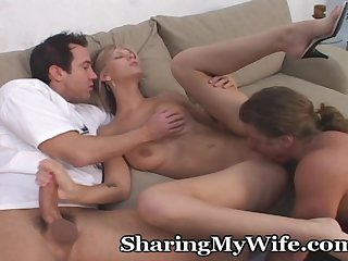 Hubby s buddy gets a piece of wifey