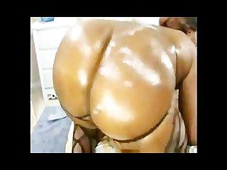 Ebony ass cumshot compilation