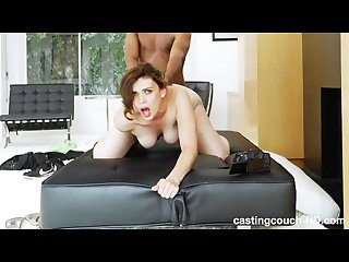 Big Booty White Girl Wants To Be In A Rap Video Ends Up On Our Couch