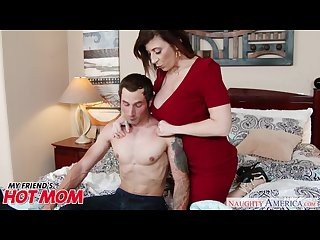 Busty milf sara jay seduces sucks and fucks her son s bud naughty america