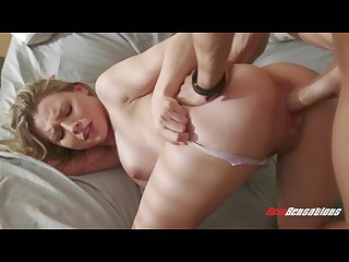Aubrey sinclair fucks her step brother this morning