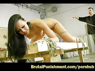 Tit whipping plus bdsm