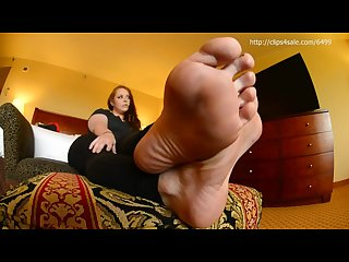 Wide soles in your face