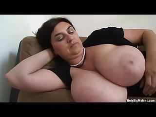 Euro big tits mature posing