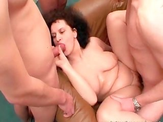 Nasty whores having hardcore group sex