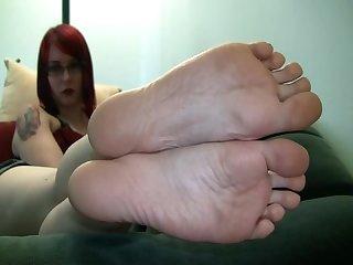 Dick stiffening soles pt 3