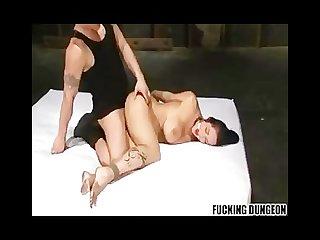 Carmella bing bondage fast fuck and cum