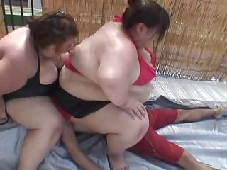 3 asians smothering