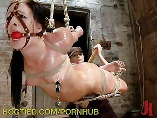 Ashli orion in helpless bondage