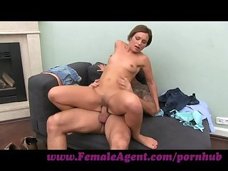 FemaleAgent. MILF with amazing cowgirl skills