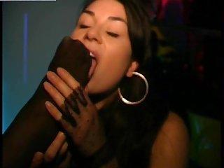 Nightclub lesbian Footworship pt 2