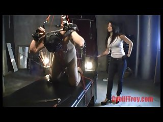 Cybill troy anal hook caning
