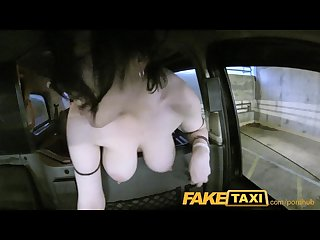 Faketaxi facial piercings make good blowjobs