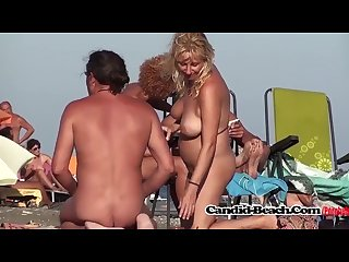 Shaved Pussies Hot Milfs Naked At Beach Spycam Voyeur