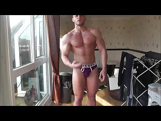 Muscle connor worship and oil