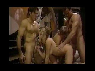 Vintage big tit orgy