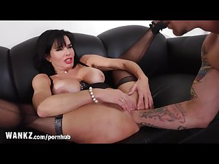 Wankz horny milf boss gets fisted in her office