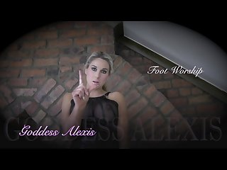 English goddess Alexis torments you w her sweaty Boot and stocking feet