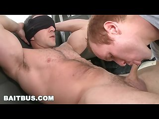 Baitbus str8 hunk fitness coach max strong tricked into sucking dick