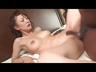 Japanese milf interracial