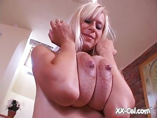 Anastasia devine hot blonde Lactating