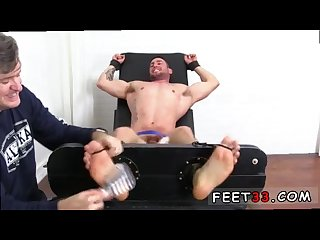 Feet of men stroking a penis and photo gay feet domination casey more