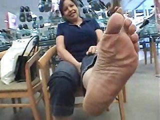 Mature Mexican soles