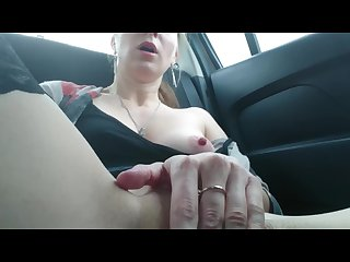 Masturbation in real taxi cab public jerking off in real taxi