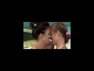 Hot lesbian licking and fingering at pool part 2