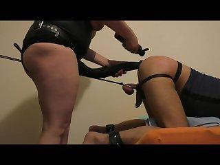 Huge Horse cock strapon fucking slave