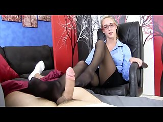 doctor nylon footjob