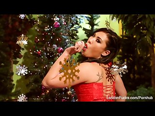 London keyes naughty christmas fuck