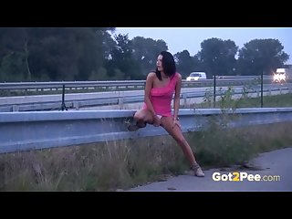 Got2pee peeing in public compilation 006