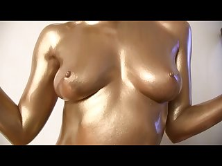 Midas dildo golden statue