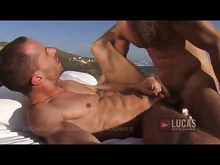 Young jock seduces a pool boy in greece