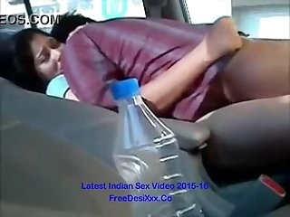 Bangla gf 1st time fucked in car