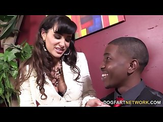 Lisa ann gets fucked by her black employee