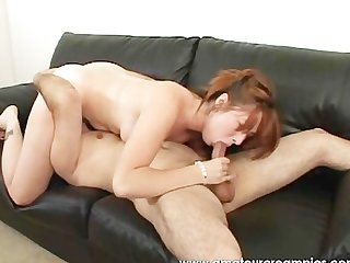 Amateur horny couple enjoys fucking hard