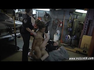 Curley blonde milf and real black exposed and brutal hardcore threesome
