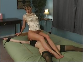 Lesbian facesitting domination