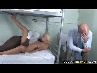 Alexia skye sucks bbc for her freedom