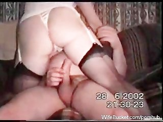 Mature couple vintage sex tape