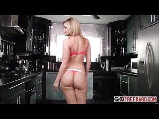 Alexis texas in kitchen